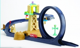 Chuggington - Diecast Training Yard With Loop with Wilson