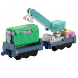 Chuggington - Diecast Irving's Rubbish & Recyling Cars