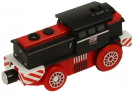 Bigjigs Wooden Railway - Bigjigs Battery Operated Diesel