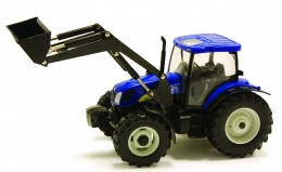 Britains 42687: New Holland T6020 Tractor & Loader