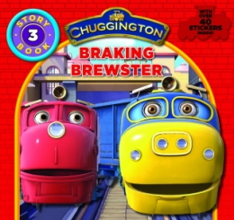 Story Book with Stickers No3 - Braking Brewster