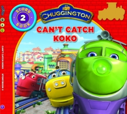 Story Book with Stickers No2 - Can't Catch Koko