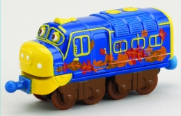 Chuggington - Diecast Leaf Covered Brewster