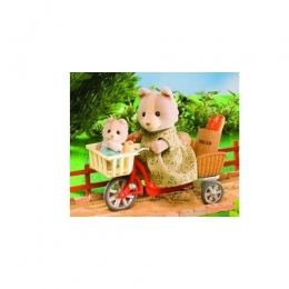 Sylvanian Families - Cycling With Mother