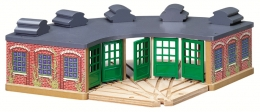Wooden Railway - The Engine Shed