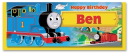 Personalised Thomas Birthday Card A - G