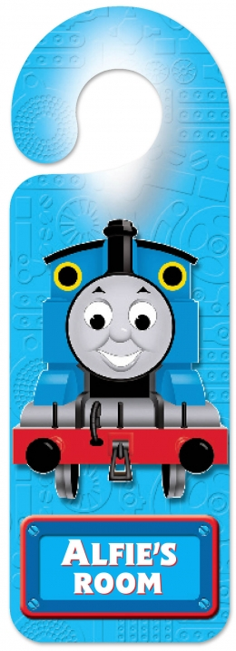 Personalised Thomas Door Hanger  H - K