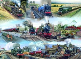 Jigsaw Memories of Steam
