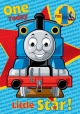 Thomas The Tank - Birthday Card with Badge Age 1