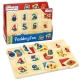 My First Paddington Wooden Peg Puzzle