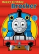 Thomas The Tank - Birthday Card Brother