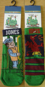 Ivor The Engine Childrens Socks