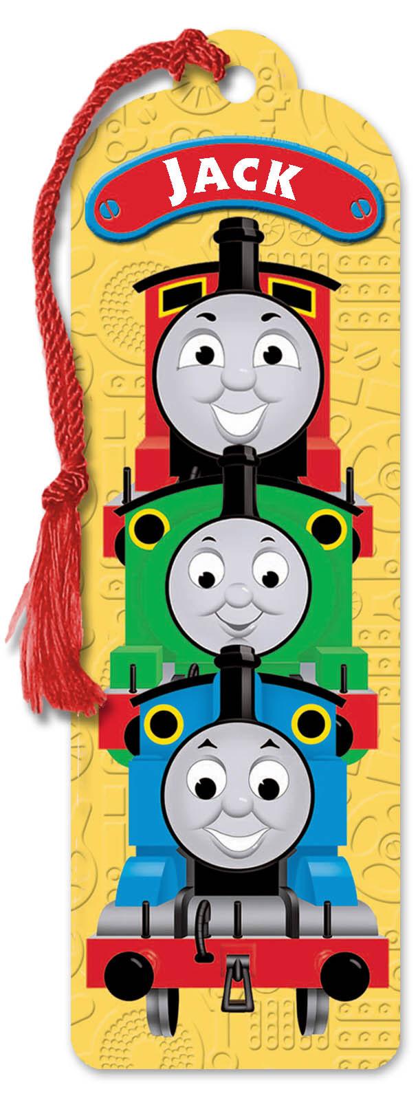 Personalised Thomas Book Mark L - W Personalised Birthday ...