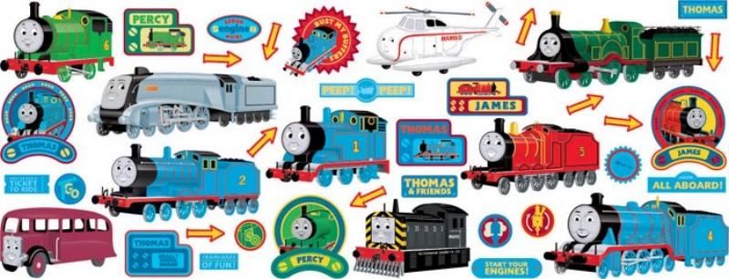 stikarounds thomas posters amp stickers d 233 corations anniversaire chuggington pour gar 231 ons